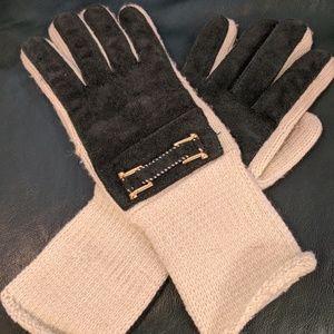 Vintage winter gloves